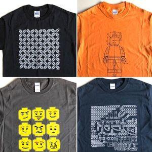 Gildan Shirts - NEW! Graphic Black & White Tee T-Shirt / NWOT